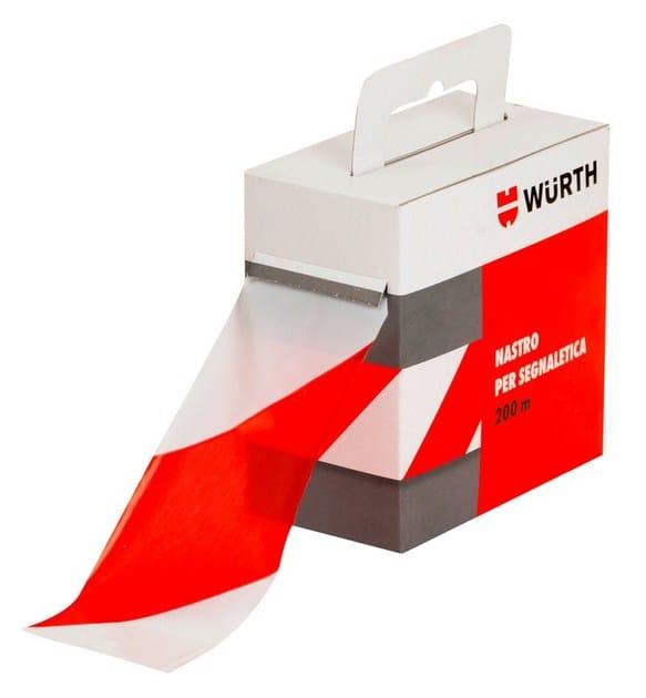nastro segnaletico bianco rosso wurth