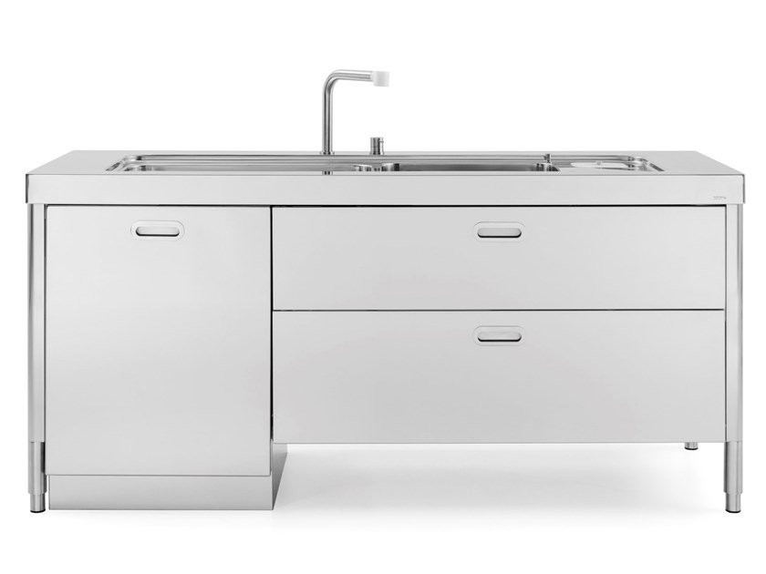 L190 Kitchen Unit For Sinks By Alpes Inox