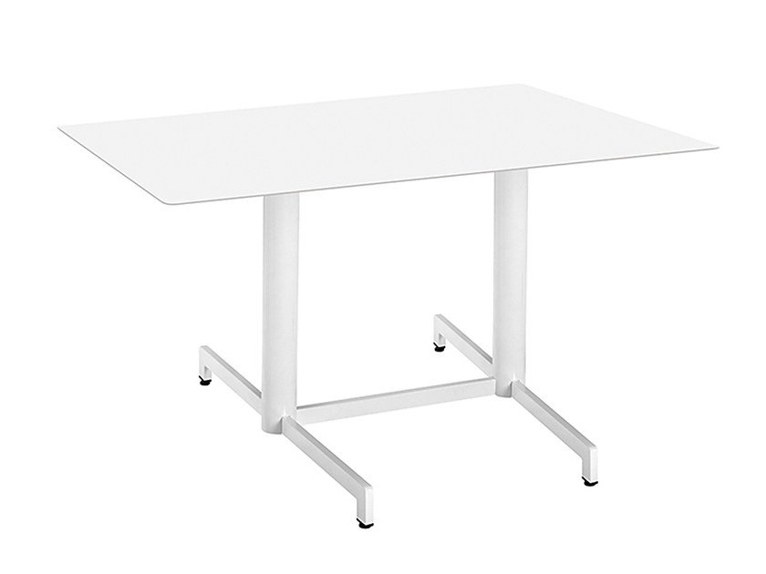 Rectangular steel contract table Web 469 by Metalmobil