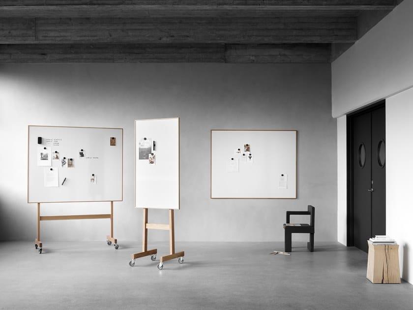 Pareti Lavagna Magnetica : Lavagna per ufficio magnetica a parete lavagna con cornice in legno