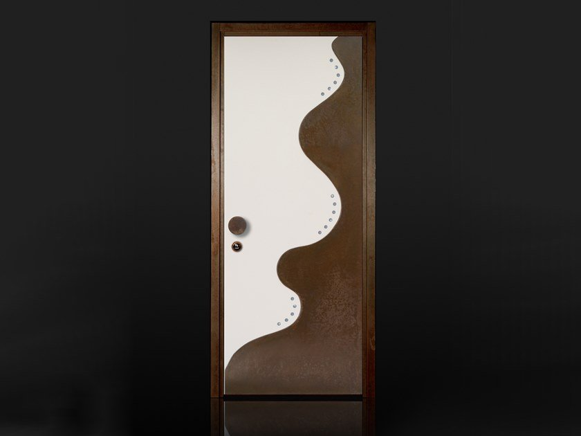 Wooden safety door Wooden entry door by Ercole