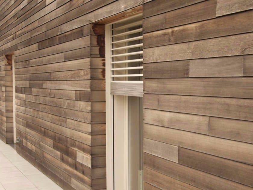 Wooden solar shading Wooden solar shading by CARMINATI SERRAMENTI