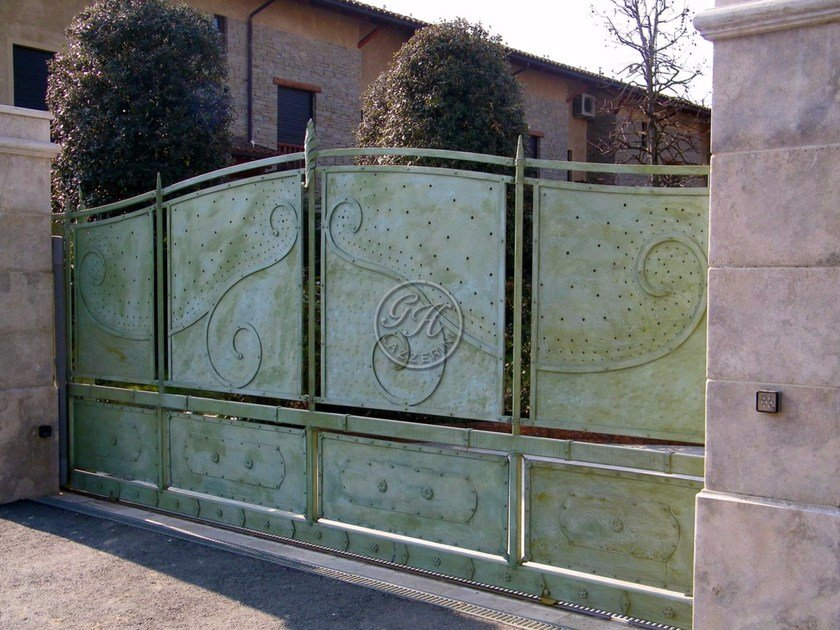 Iron gate Wrought iron gate 2 by GH LAZZERINI