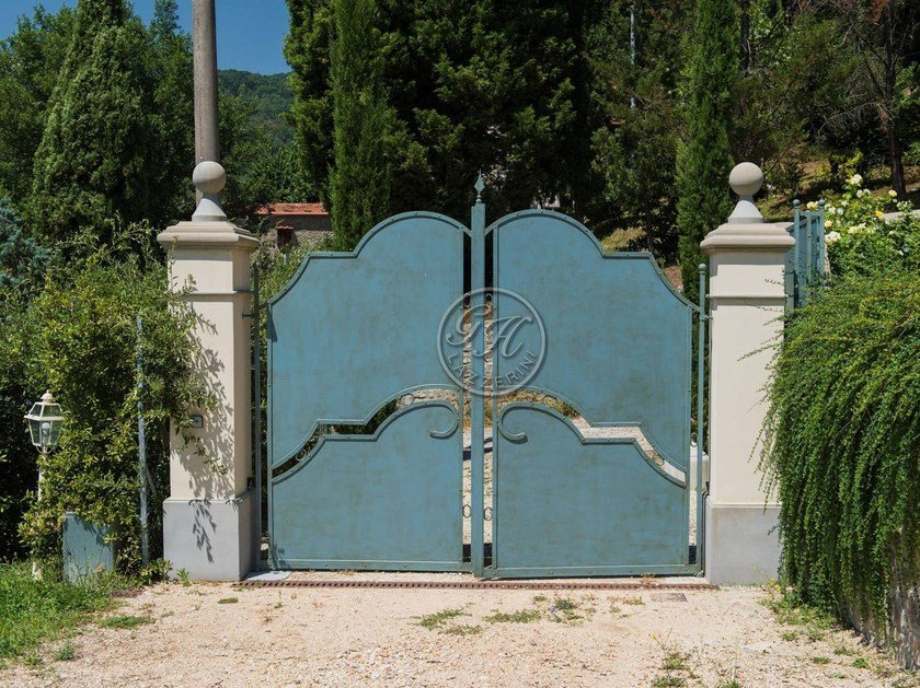 Iron gate Wrought iron gate 3 by GH LAZZERINI