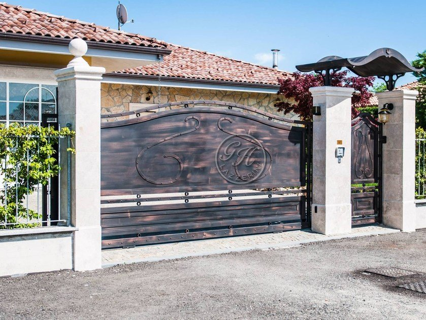Iron gate Wrought iron gate 5 by GH LAZZERINI