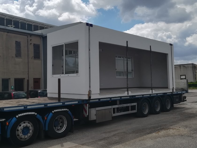 Construction site prefabricated component and garage X-20(01) | Construction site prefabricated component and garage by Emmecinque Monoblocchi