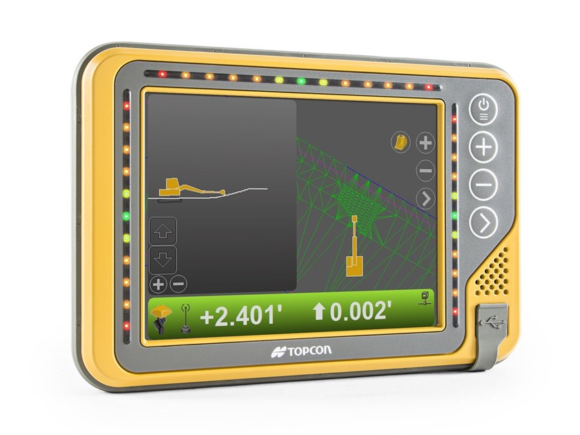 Accessories for construction site machinery X-53x by Topcon