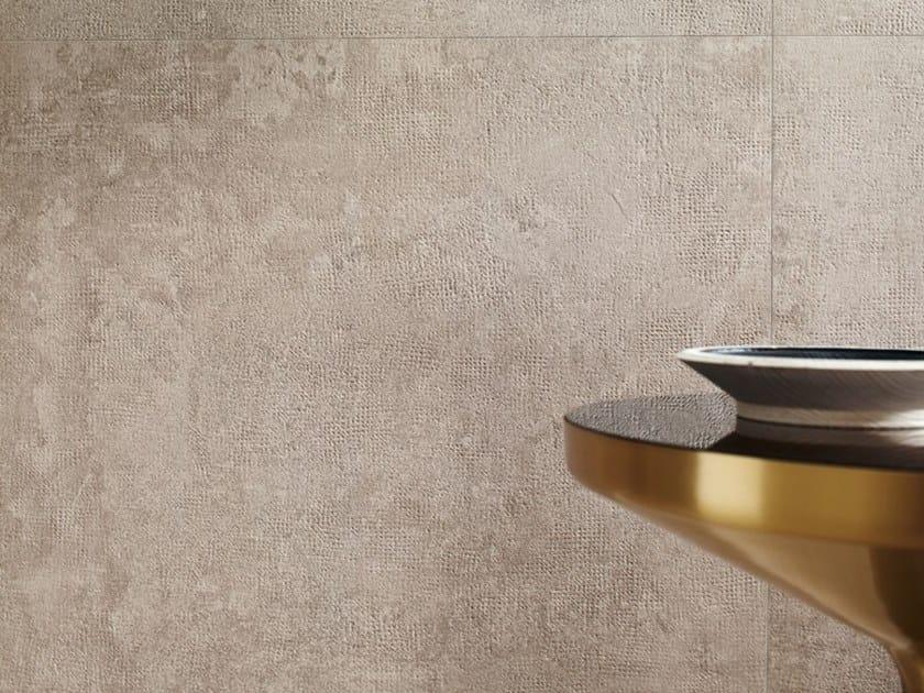Porcelain stoneware wall/floor tiles with concrete effect X-BETON DOT-30 by COTTO D'ESTE