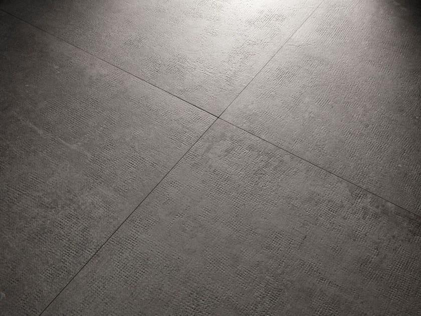 Porcelain stoneware wall/floor tiles with concrete effect X-BETON DOT-70 by COTTO D'ESTE