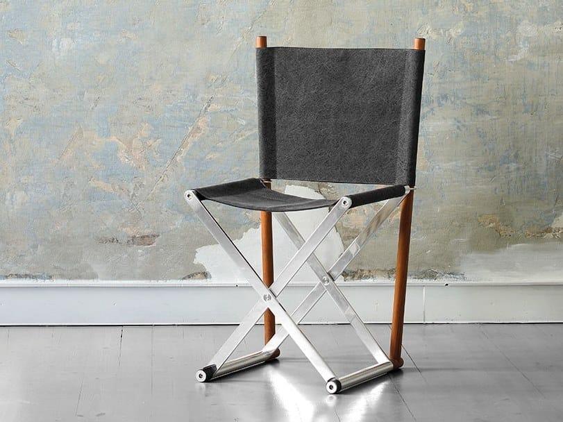 Folding fabric chair X – Elle by ManifestoDesign