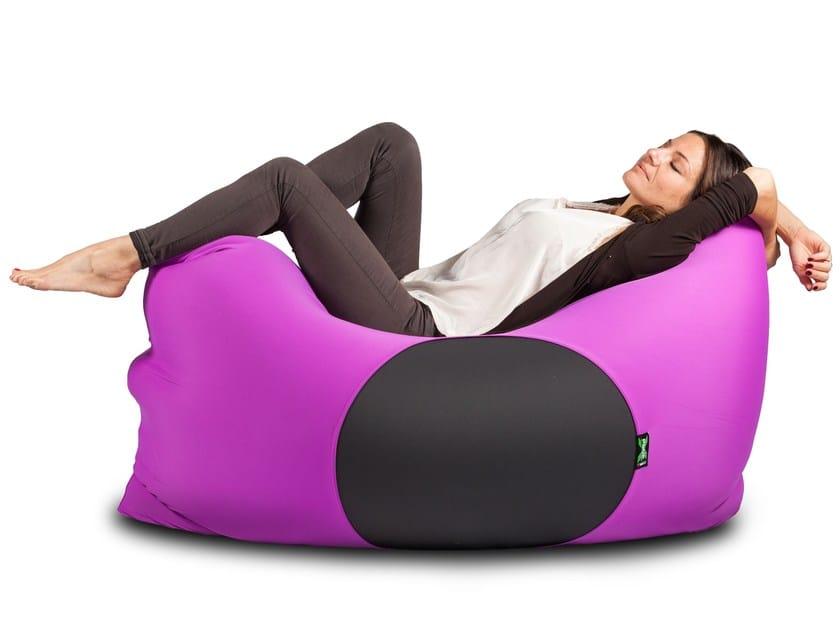 Microfiber armchair / pouf X-FIVE by XPOUF