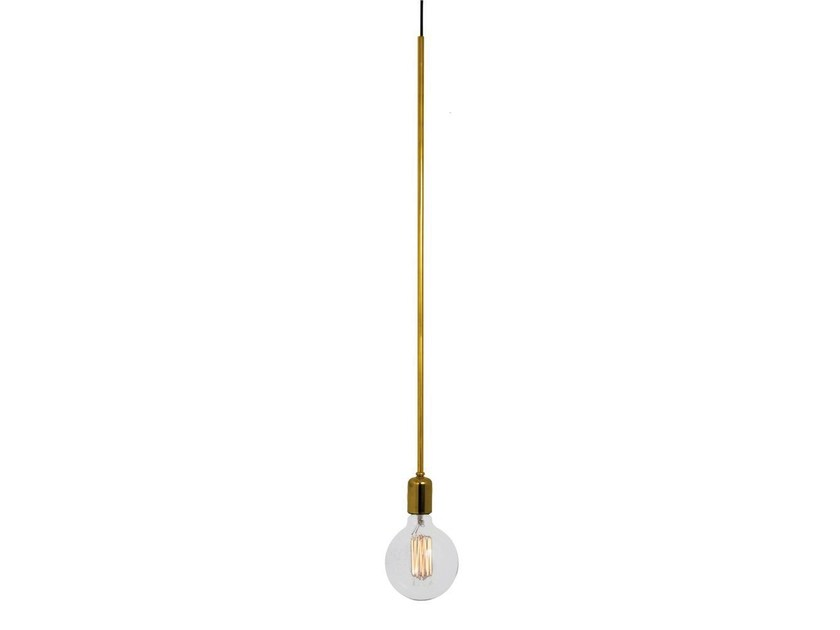 Metal pendant lamp X-LESS by Aromas del Campo