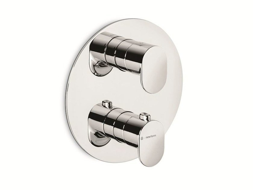 Thermostatic thermostatic shower mixer X-LIGHT | Thermostatic shower mixer by newform
