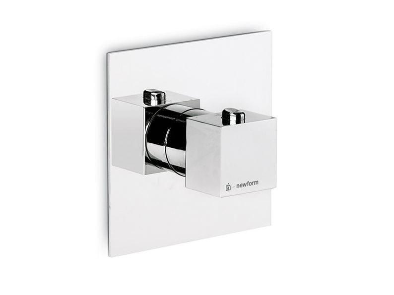 Thermostatic thermostatic shower mixer X-SENSE   Thermostatic shower mixer by newform