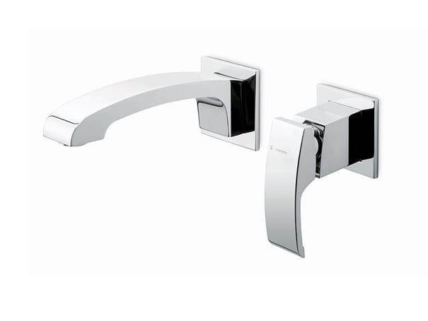 2 hole single handle washbasin mixer X-SENSE   2 hole washbasin mixer by newform