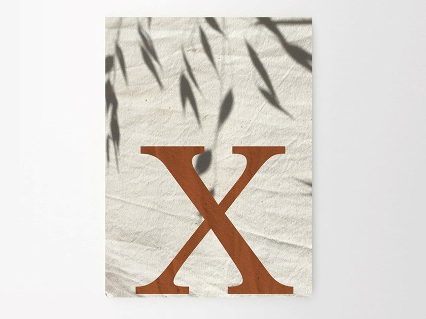 Stampa su carta X SHADES by Sesehtypo