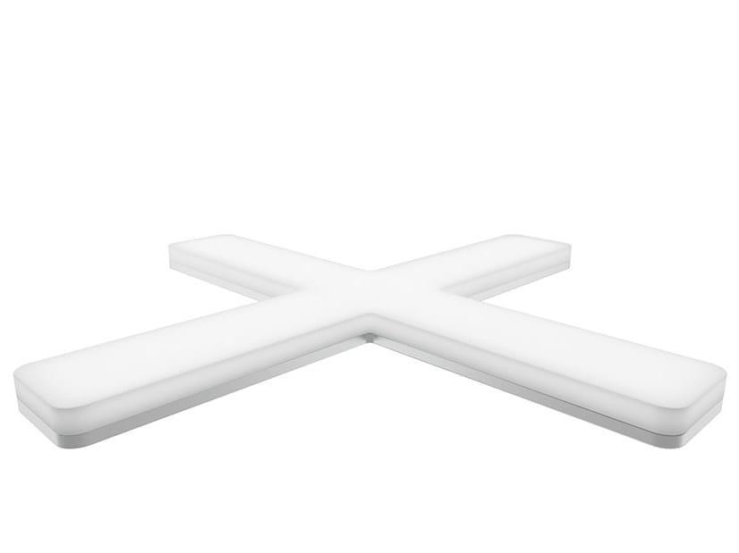 Aluminium Furniture lighting X-SIGN 4F by Domus Line