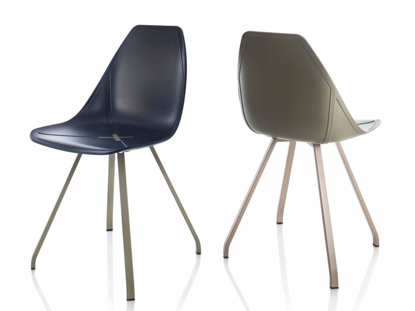 Polypropylene chair X SPIDER by ALMA DESIGN