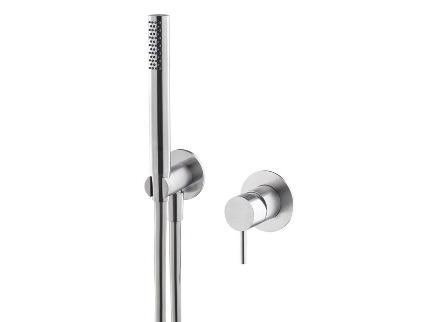 Stainless steel shower tap with hand shower X-STEEL 316 | Shower tap with hand shower by newform