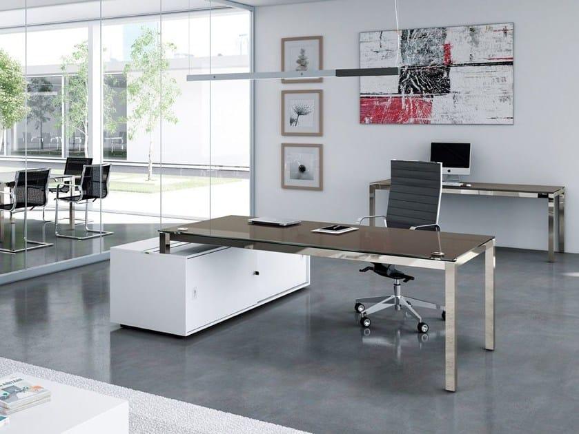 Executive desk X4 | Executive desk by Quadrifoglio