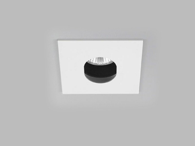 Adjustable ceiling recessed aluminium spotlight XA2104 | Spotlight by PANZERI