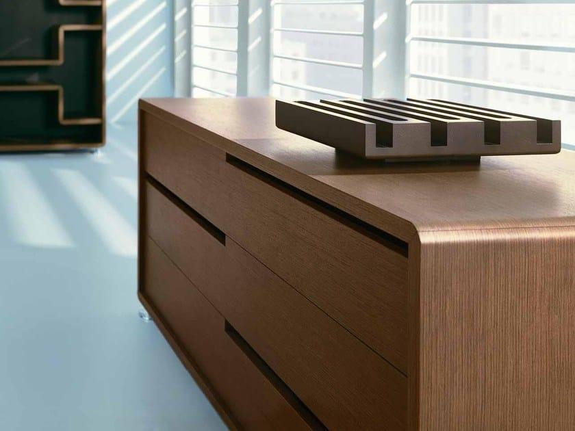 Wooden office storage unit XEON | Office storage unit by BALMA