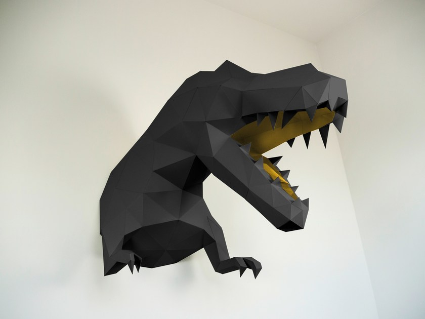 Paper wall decor item XL T-REX by Papertrophy