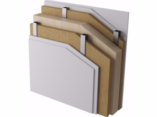Exterior insulation system XLAM by Naturalia BAU