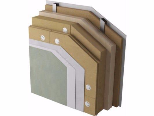 Exterior insulation system XLAM with NaturaWall by Naturalia BAU
