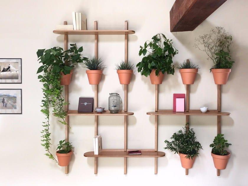 Oak plant pot XPOT by Compagnie
