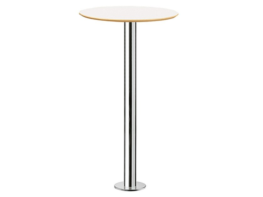 Round high table XT 477AF by Metalmobil