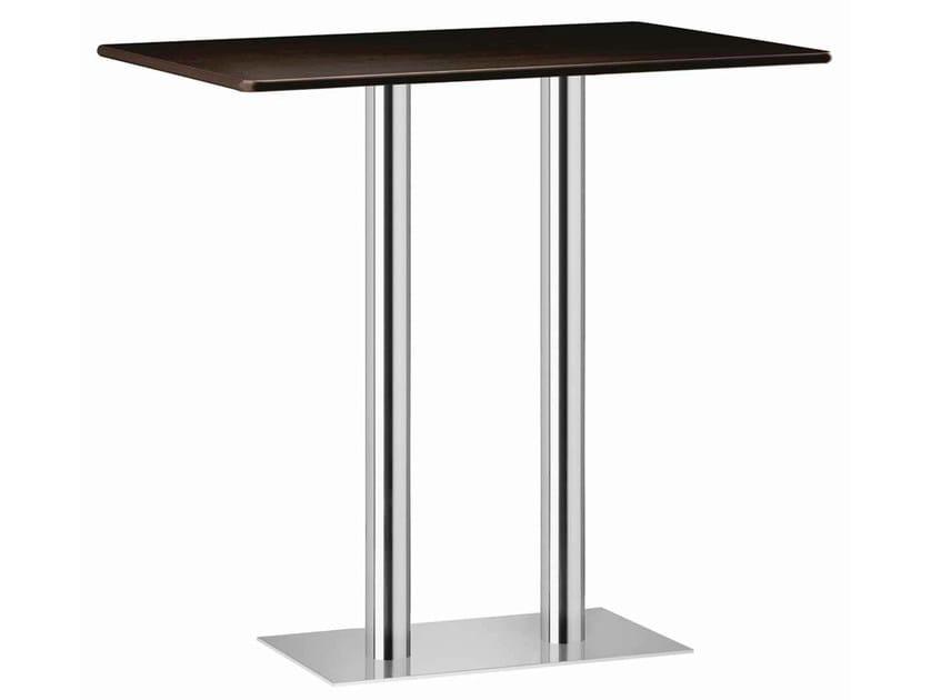 Rectangular high table XT 490AT by Metalmobil
