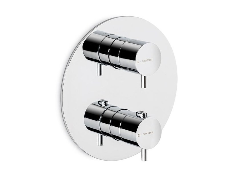 Thermostatic thermostatic shower mixer XT | Thermostatic shower mixer by newform