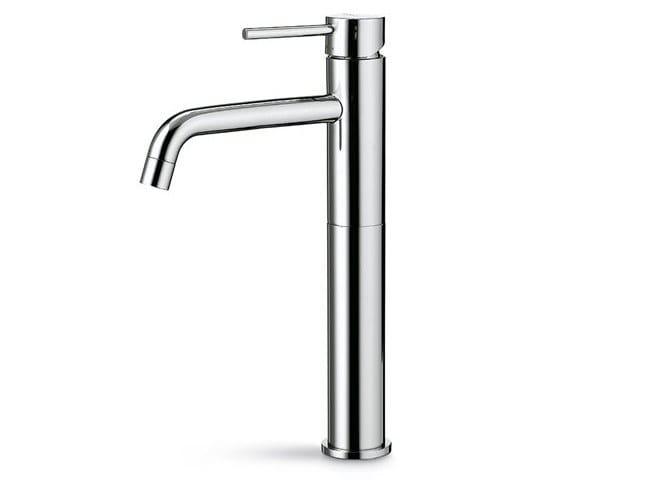 Countertop single handle washbasin mixer without waste XT | Washbasin mixer without waste by newform