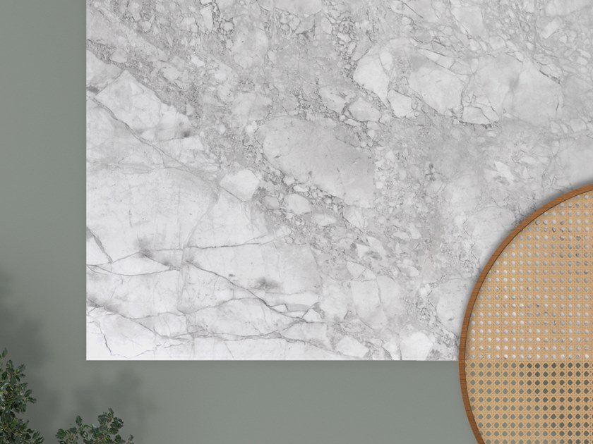Porcelain stoneware kitchen worktop XTONE PORTO GREY by URBATEK