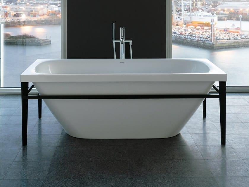 Freestanding acrylic bathtub XVIU | Bathtub by Duravit