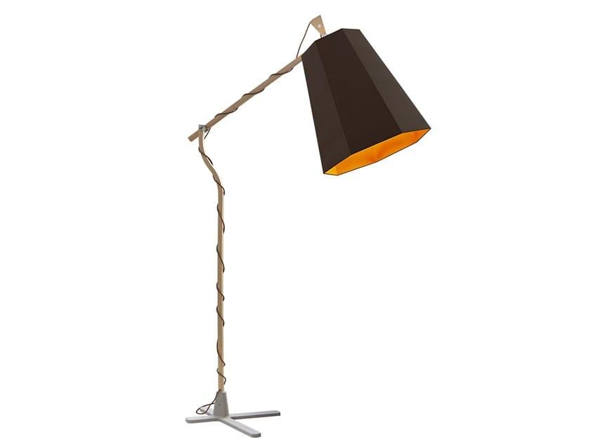 Adjustable floor lamp XXL LUXIOLE   Floor lamp by designheure