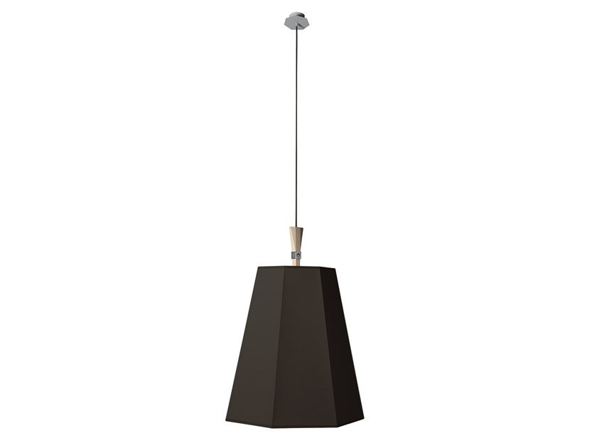 Fabric pendant lamp XXL LUXIOLE   Pendant lamp by designheure