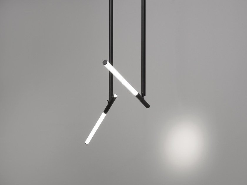 LED adjustable ceiling lamp XY180 | Adjustable ceiling lamp by Delta Light