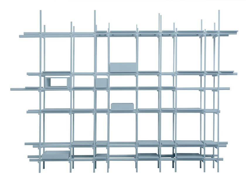 Open sectional bookcase XYZ by Moca