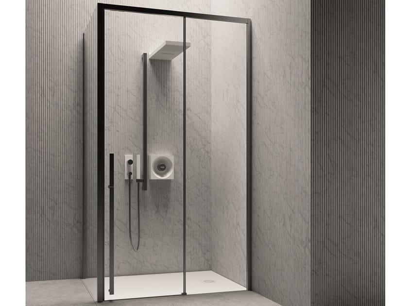 Cabina de ducha modular con puertas correderas XYZ+™ | Cabina de ducha by Jacuzzi®