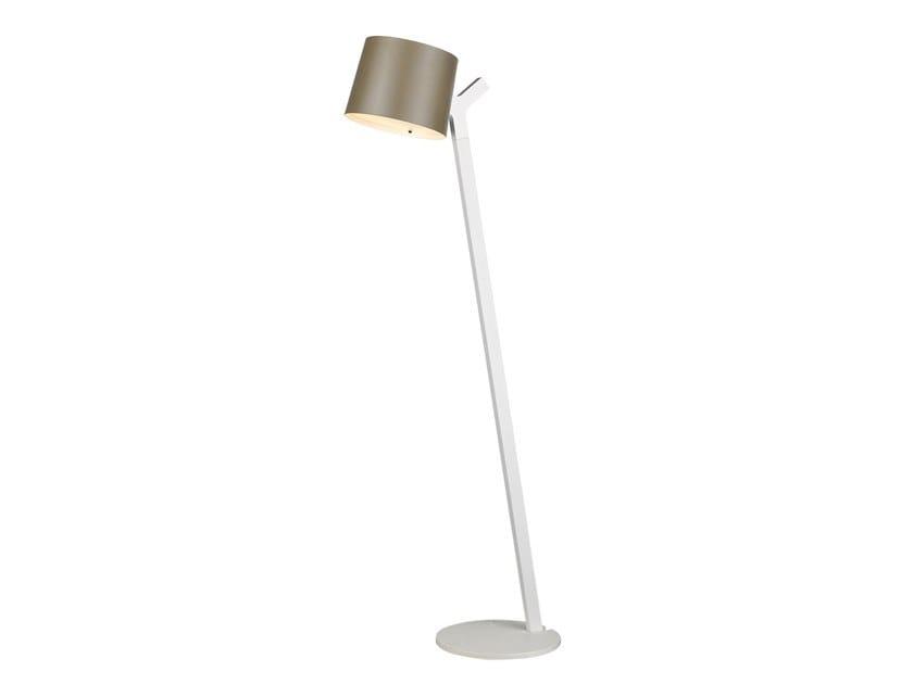 LED adjustable aluminium floor lamp Y FLOOR by Seyvaa