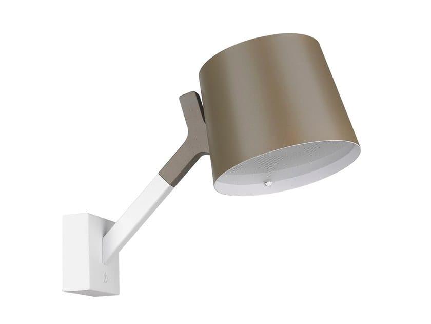 LED adjustable aluminium wall light Y WALL by Seyvaa