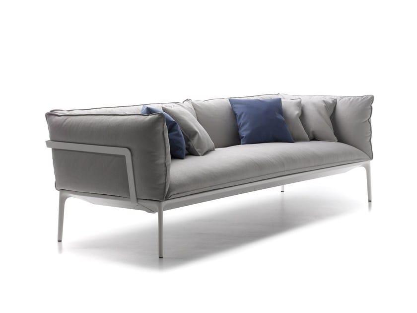 Upholstered fabric sofa YALE | Sofa by MDF Italia