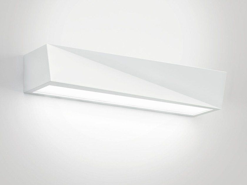 Contemporary style LED direct-indirect light AirCoral® wall light YANG by Buzzi & Buzzi
