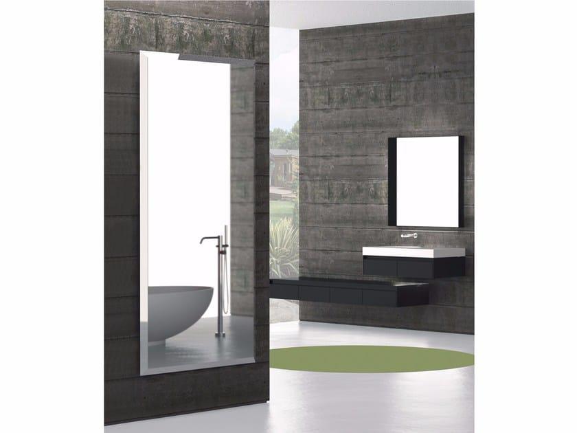 Mirrored extruded aluminium decorative radiator YANG by K8 Radiatori