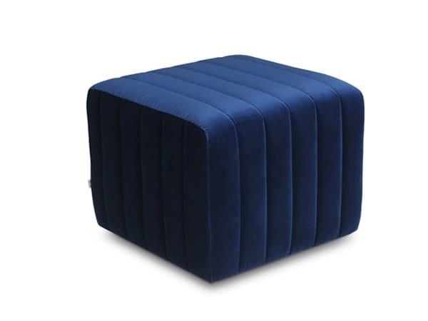 YANNI | Fabric pouf By Now & Future design GOODO Design Studio