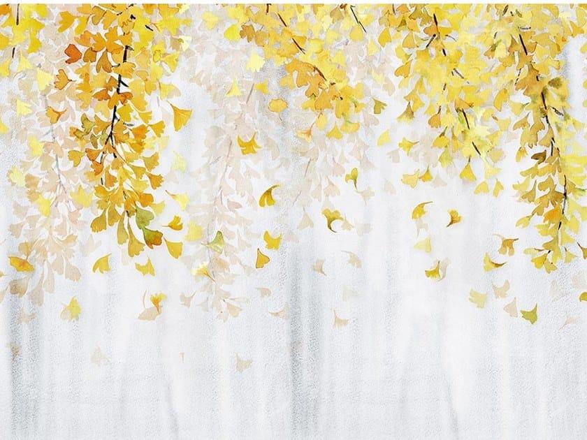 Papel de parede ecológico de tecido não tecido YELLOW GINKGO by Wallpepper Group