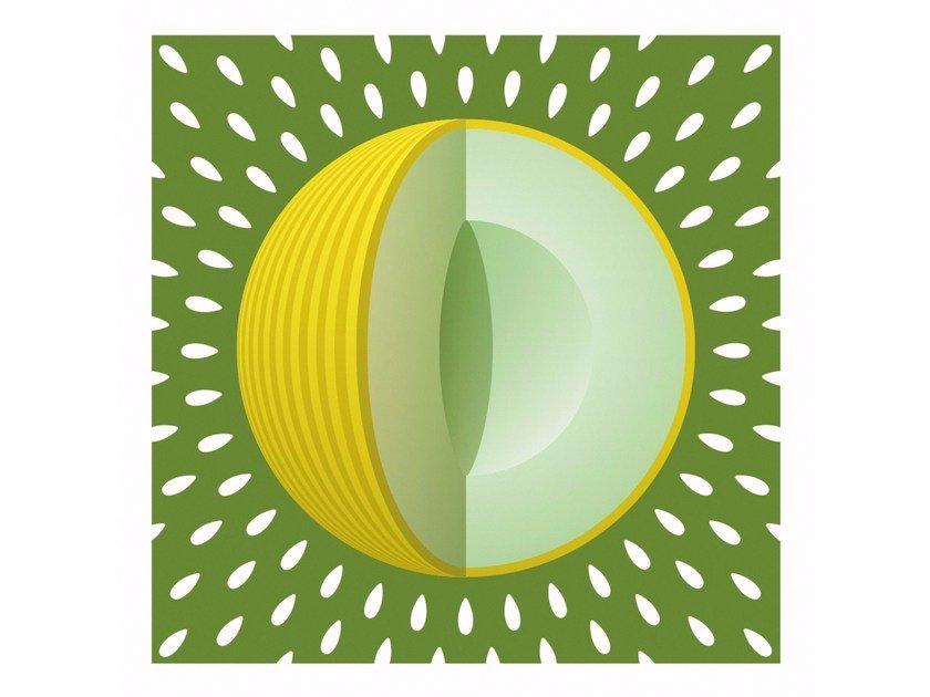 Print on paper YELLOW MELON by Andre Brik
