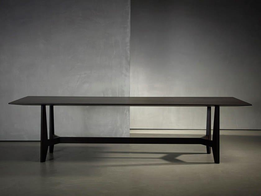 Rectangular dining table YKE | Rectangular table by Piet Boon